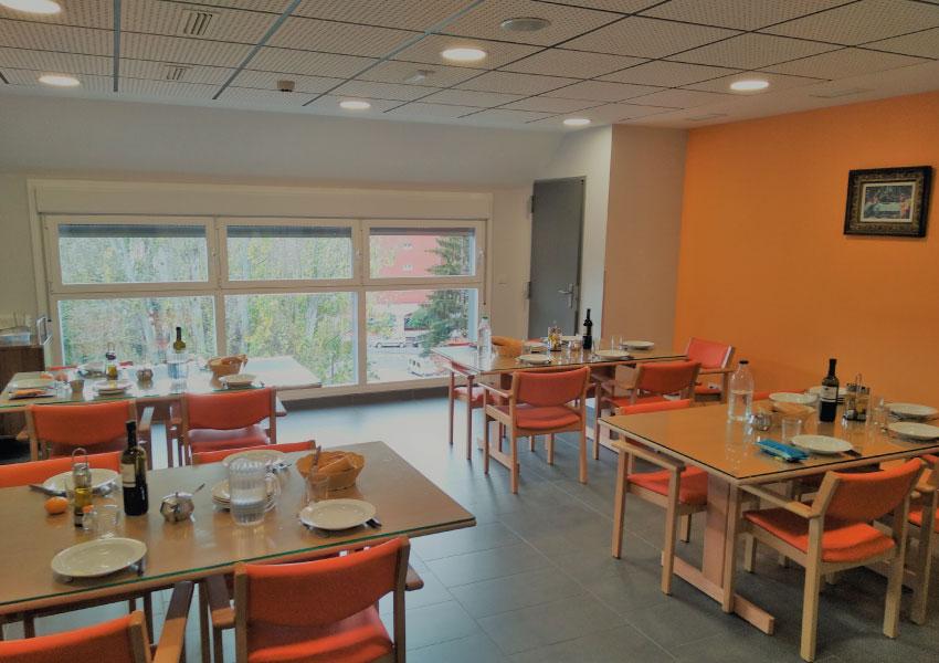 Residencia de mayores en Vitoria-Gasteiz | Mercedarias | Comedor