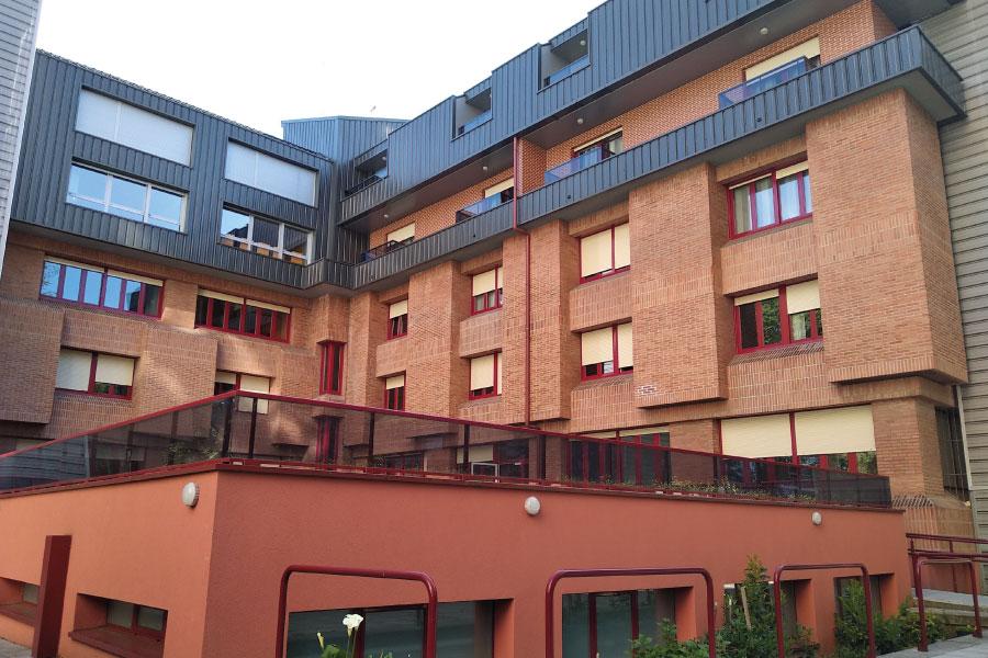 Residencia de mayores en Vitoria-Gasteiz | Mercedarias | Espacios al aire libre