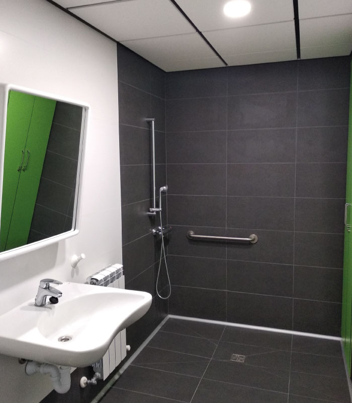 Residencia de mayores en Vitoria-Gasteiz | Mercedarias | Baño habitación doble