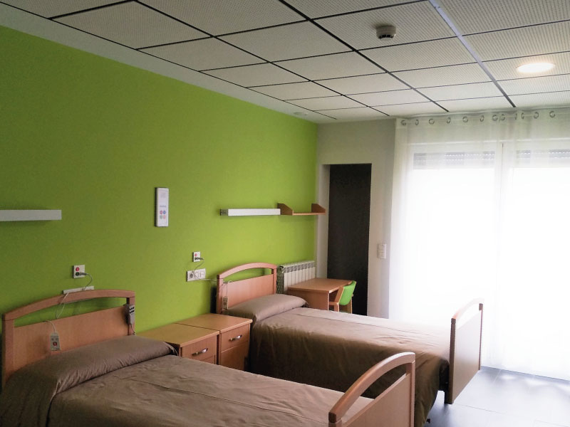 Residencia de mayores en Vitoria-Gasteiz | Mercedarias | Habitación doble