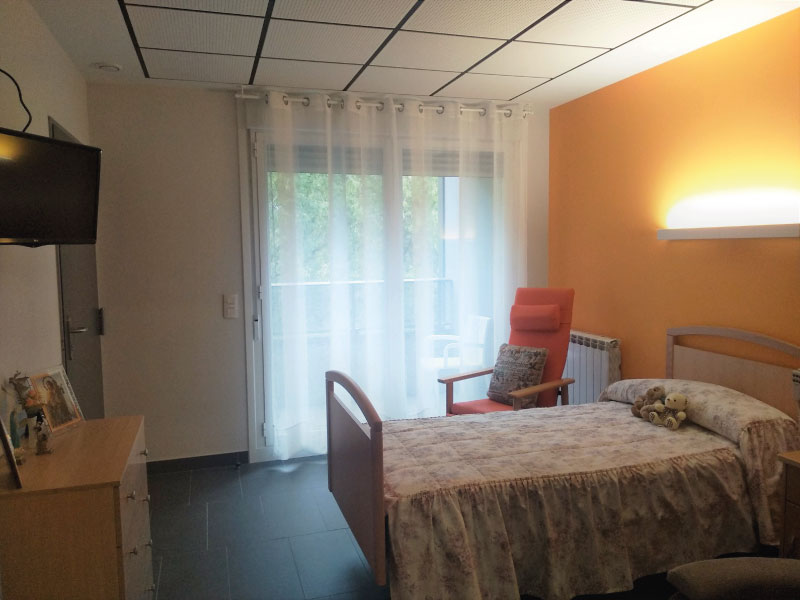 Residencia de mayores en Vitoria-Gasteiz | Mercedarias | Habitación individual