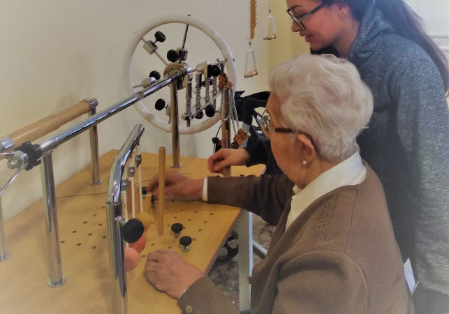 Rehabilitación específica | Residencia en Vitoria-Gasteiz | Mercedarias Egoitza