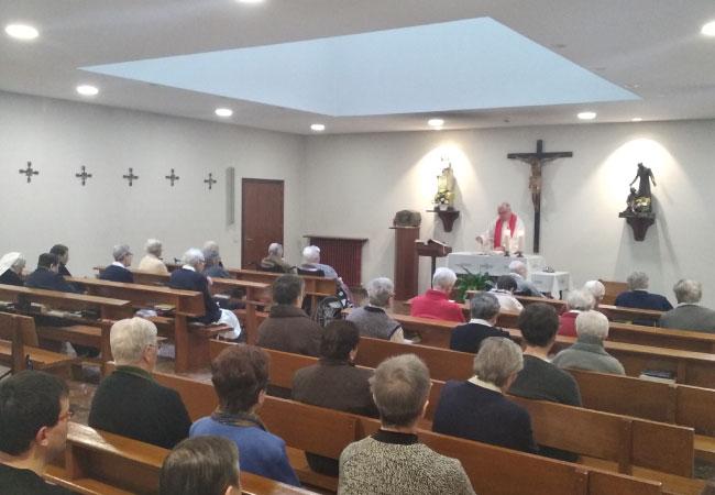 Residencia en Vitoria-Gasteiz | Residencia de ancianos | Servicio religioso con capilla propia | Mercedarias Egoitza