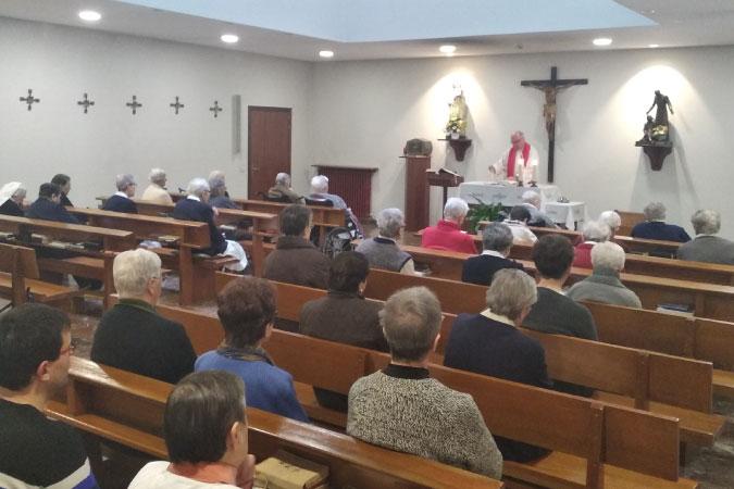Servicio religioso con capilla propia | Mercedarias Egoitza | Vitoria